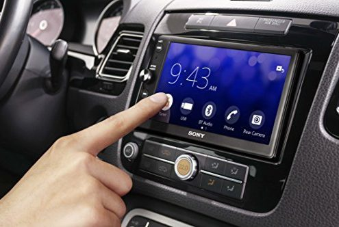 autoradio android auto apple carplay Sony-XAV-AX100