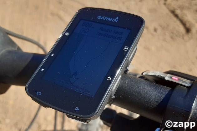 gps velo garmin edge 520 plus boutons