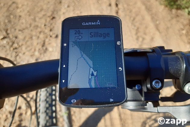 gps velo garmin edge 520 plus